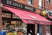 De Luca's market, Boston, Massachusetts, USA.