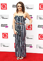 Maisie Williams, The Q Awards 2017 - Red Carpet Arrivals, Roundhouse, London UK, 18 October 2017, Photo by Brett D. Cove