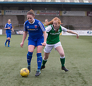 18/02/2017 - Forar Farmington v Hibernian in the SWPL 1 at Station Park, Forfar, Picture by David Young -