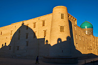 Ouzbekistan, Boukhara, patrimoine mondial de l Unesco, Madrasa Mir I Arab // Uzbekistan, Bukhara, Unesco world heritage, Madrasah Mir I Arab