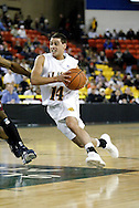 11/22/2006 - Anchorage, Alaska: UAA's Luke Cooper (14) in the Loyola Marymount victory over the University of Alaska-Anchorage 69-58 in the first game of the 2006 Great Alaska Shootout<br />