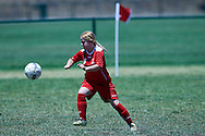 SO Poland athlete controls the ball while football women match 7-a-side during fourth day of the Special Olympics World Games Los Angeles 2015 on July 28, 2015 at Balboa Sports Centre in Los Angeles, USA.<br /> USA, Los Angeles, July 28, 2015<br /> <br /> Picture also available in RAW (NEF) or TIFF format on special request.<br /> <br /> For editorial use only. Any commercial or promotional use requires permission.<br /> <br /> Adam Nurkiewicz declares that he has no rights to the image of people at the photographs of his authorship.<br /> <br /> Mandatory credit:<br /> Photo by © Adam Nurkiewicz / Mediasport