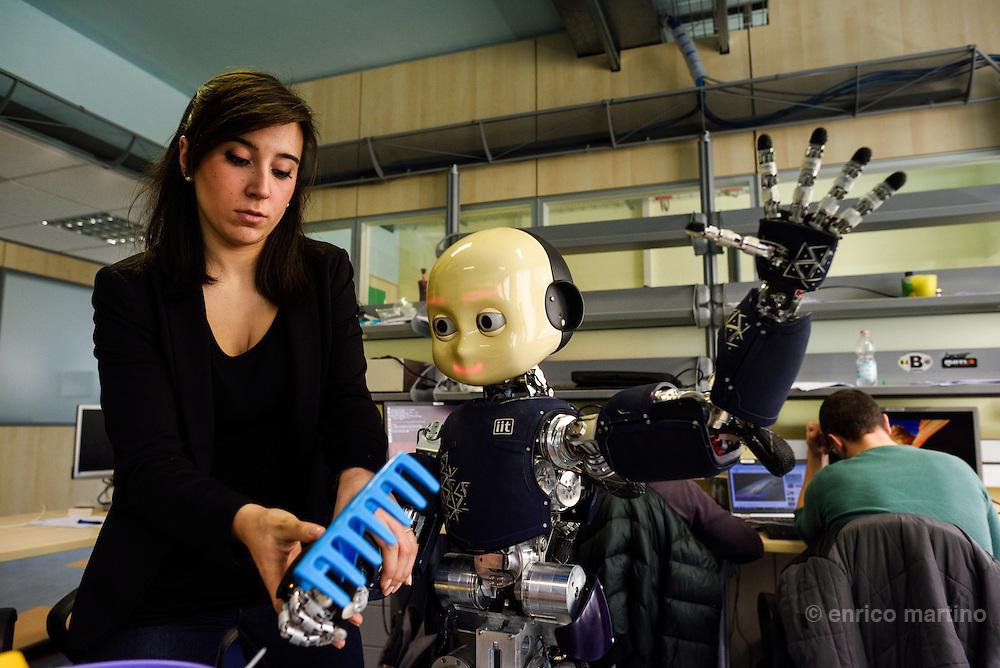 Genoa- Istituto Italiano di Tecnologia. Giulia Vezzani, iCub Facility
