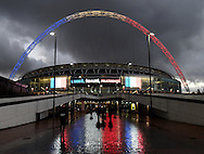 A general view of Wembley pro to the Breast Cancer Care International Friendly match at Wembley Stadium, London<br /> Picture by Daniel Hambury/Focus Images Ltd +44 7813 022858<br /> 17/11/2015