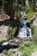 Small waterfall along King's Creek, Lassen National Park