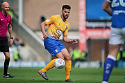 Mansfield Town midfielder Jacob Mellis (8)during the EFL Sky Bet League 2 match between Chesterfield and Mansfield Town at the Proact stadium, Chesterfield, England on 14 A pril 2018. Picture by Nigel Cole.