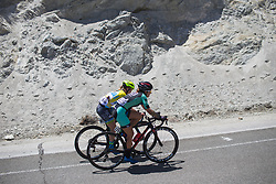 Riders tackle the final climb on Stage 2 of the Amgen Tour of California - a 108 km road race, starting and finishing in South Lake Tahoe on May 18, 2018, in California, United States. (Photo by Balint Hamvas/Velofocus.com)
