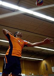 31-05-2013 VOLLEYBAL: OUD INTERNATIONALS - REGIO TOPPERS: ASSEN<br /> Animo 68 en Joost Kooistra organiseren een Topwedstrijd om geld op te halen voor voor Mieke de Vroede. Mieke kwam in 2011 in aanraking met ALS / Joshua Kaiola<br /> &copy;2013-FotoHoogendoorn.nl