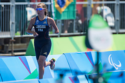 Gwladys LEMOUSSU, FRA, Para-Triathlon - PT4 at Rio 2016 Paralympic Games, Brazil