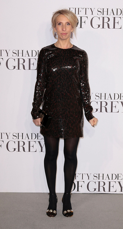 Feb 12, 2015 - 'Fifty Shades of Grey' UK Premiere - Red Carpet Arrivals at Odeon, Leicester Square<br /> <br /> Pictured: Director Sam Taylor-Johnson <br /> ©Exclusivepix Media