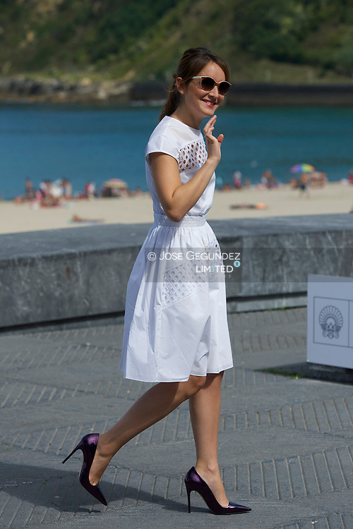 Anais Demoustier attend 'Une nouvelle amie' (The new girlfriend) Photocall during the 62nd San Sebastian International Film Festival at the Kursaal Palace on September 20, 2014 in San Sebastian, Spain.