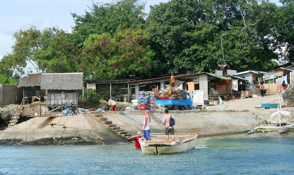 Boat Landing, Cebu, Philippines