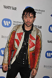 ROBBIE FURZE at the Warner Music Group Post Brit Awards Party in Association with Samsung held at The Savoy, London on 20th February 2013.