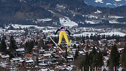 30.01.2016, Normal Hill Indiviual, Oberstdorf, GER, FIS Weltcup Ski Sprung Ladis, Bewerb, im Bild Lara Malsiner (ITA) // Lara Malsiner of Italy during her Competition Jump of FIS Ski Jumping World Cup Ladis at the Normal Hill Indiviual, Oberstdorf, Germany on 2016/01/30. EXPA Pictures © 2016, PhotoCredit: EXPA/ Peter Rinderer
