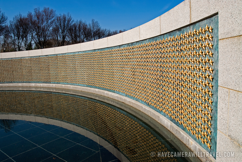 World War II Memorial on the National Mall in Washington DC