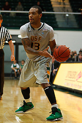 Dec 10, 2011; San Francisco CA, USA;  San Francisco Dons guard Rashad Green (13) passes the ball against the Pacific Tigers during the first half at War Memorial Gym.  San Francisco defeated Pacific 79-69. Mandatory Credit: Jason O. Watson-US PRESSWIRE