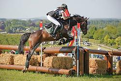 De Liedekerke Sybille (BEL) - Ulina<br /> Belgisch kampioenschap eventing<br /> CNC Tongeren 2010<br /> © Dirk Caremans