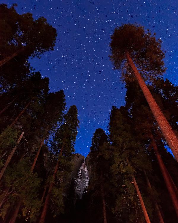 Yosemite Falls frozen solid 5-45 AM