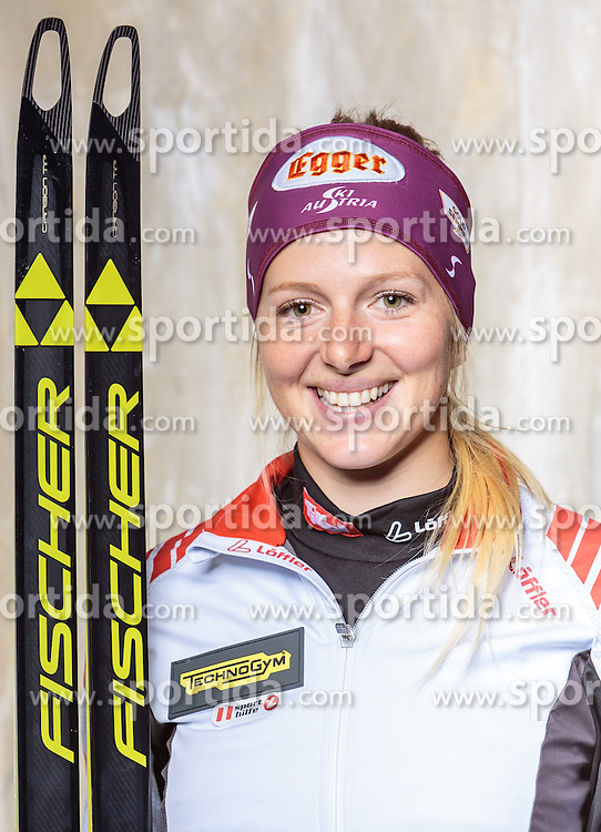 08.10.2016, Olympia Eisstadion, Innsbruck, AUT, OeSV Einkleidung Winterkollektion, Portraits 2016, im Bild Lisa Hauser, Biathlon, Damen // during the Outfitting of the Ski Austria Winter Collection and official Portrait Photoshooting at the Olympia Eisstadion in Innsbruck, Austria on 2016/10/08. EXPA Pictures © 2016, PhotoCredit: EXPA/ JFK