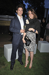 SAM WALEY-COHEN and BELLA BALLIN at the annual Serpentine Gallery Summer Party sponsored by Canvas TV  the new global arts TV network, held at the Serpentine Gallery, Kensington Gardens, London on 9th July 2009.