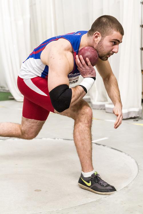 Boston University John Terrier Classic Indoor Track & Field: mens shot put, Fiorello, UMass Lowell