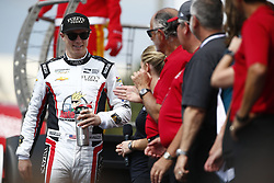 March 11, 2018 - St. Petersburg, Florida, United States of America - March 11, 2018 - St. Petersburg, Florida, USA: Jordan King (20) gets introduced to the crowd for the Firestone Grand Prix of St. Petersburg at Streets of St. Petersburg in St. Petersburg, Florida. (Credit Image: © Justin R. Noe Asp Inc/ASP via ZUMA Wire)