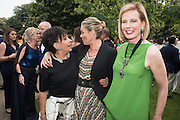 DAME SHIRLEY BASSEY; KATE MOSS; DAME JULIA PEYTON-JONES, 2016 SERPENTINE SUMMER FUNDRAISER PARTY CO-HOSTED BY TOMMY HILFIGER. Serpentine Pavilion, Designed by Bjarke Ingels (BIG), Kensington Gardens. London. 6 July 2016