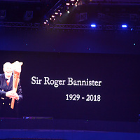 Roger Bannister is remembered at the IAAF World Indoor Championships, March 4, 2018