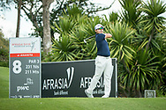 Masahiro KAWAMURA (JPN) during the 3rd round of the AfrAsia Bank Mauritius Open, Four Seasons Golf Club Mauritius at Anahita, Beau Champ, Mauritius. 01/12/2018<br /> Picture: Golffile | Mark Sampson<br /> <br /> <br /> All photo usage must carry mandatory copyright credit (© Golffile | Mark Sampson)