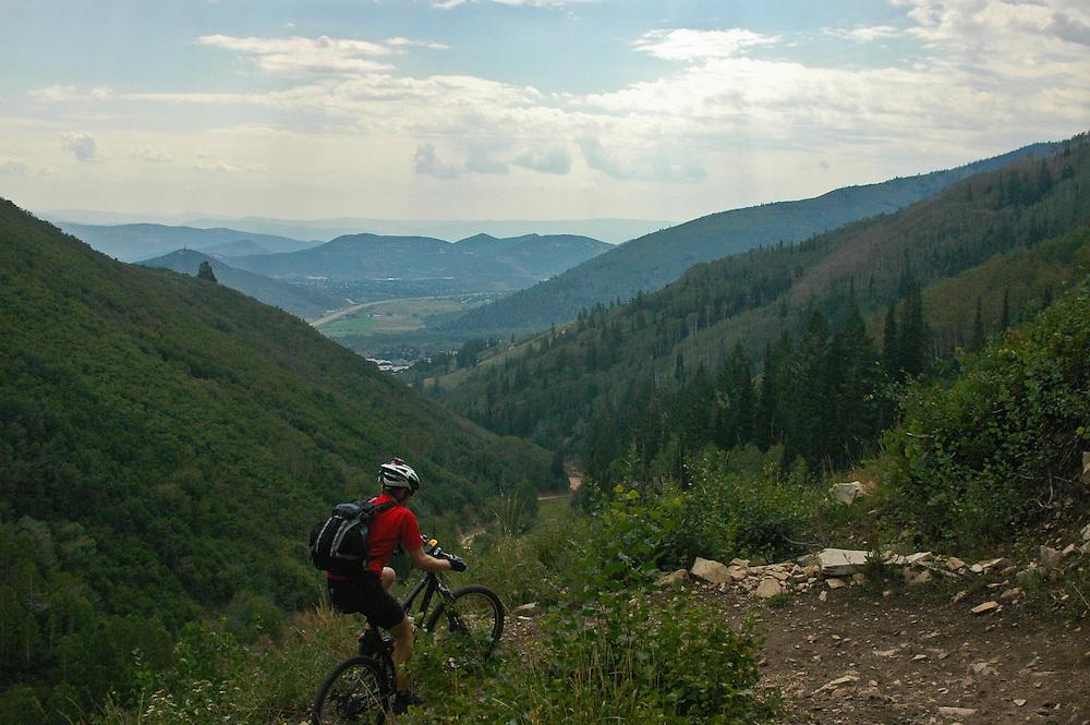 Mountain Biking Park City Utah