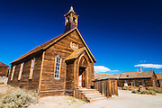 Methodist Church, Bodie State Historic Park, California USA