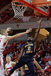 09 December 2017:  Jonathan Stark during a College mens basketball game between the Murray State Racers and Illinois State Redbirds in  Redbird Arena, Normal IL