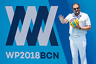 Referee <br /> TUR - GRE <br /> Turkey (white caps) vs. Greece (blue caps) <br /> Barcelona 16/07/18 Piscines Bernat Picornell <br /> Men qualification<br /> 33rd LEN European Water Polo Championships - Barcelona 2018 <br /> Photo Giorgio Scala/Deepbluemedia/Insidefoto