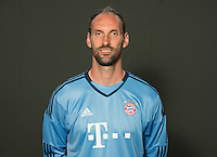 German Soccer Bundesliga 2015/16 - Photocall of FC Bayern Munich on 16 July 2015 in Munich, Germany: goalkeeper Tom Starke