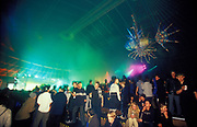 Ravers at Ministry of Sound, Millenium Dome, New Years Eve, London, U.K, 2001.