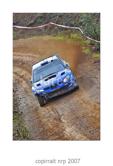 WRC PORTUGAL 2007 CHRIS ATKINSON<br /> SUBARU IMPREZA WRC 2006<br /> SUBARU WRT