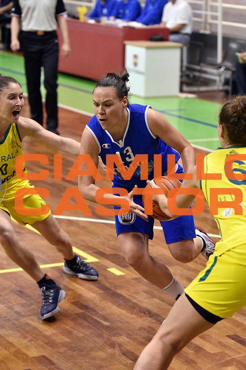 DESCRIZIONE : Pordenone Amichevole Pre Eurobasket 2015 Nazionale Italiana Femminile Senior Italia Australia Italy Australia<br /> GIOCATORE : Martina Crippa <br /> CATEGORIA : penetrazione<br /> SQUADRA : Italia Italy<br /> EVENTO : Amichevole Pre Eurobasket 2015 Nazionale Italiana Femminile Senior<br /> GARA : Italia Australia Italy Australia<br /> DATA : 28/05/2015<br /> SPORT : Pallacanestro<br /> AUTORE : Agenzia Ciamillo-Castoria/GiulioCiamillo<br /> Galleria : Nazionale Italiana Femminile Senior<br /> Fotonotizia : Pordenone Amichevole Pre Eurobasket 2015 Nazionale Italiana Femminile Senior Italia Australia Italy Australia<br /> Predefinita :