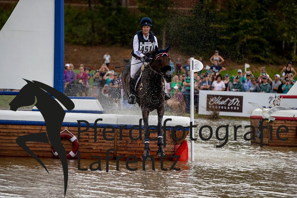 SYMANSKY Lynn (USA), Donner<br /> Tryon - FEI World Equestrian Games™ 2018<br /> Vielseitigkeit Teilprüfung Gelände/Cross-Country Team- und Einzelwertung<br /> 15. September 2018<br /> © www.sportfotos-lafrentz.de/Dirk Caremans