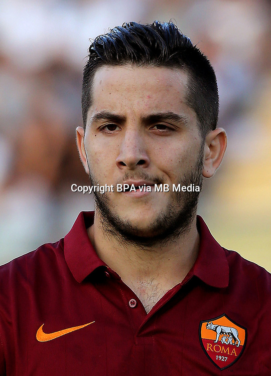 Italian League Serie A -2014-2015 / <br /> ( As Roma ) - <br /> Kostas Manolas