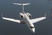 Gulfstream IV in flight