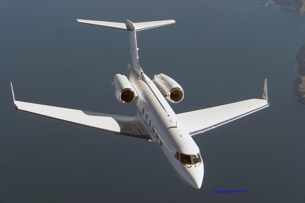 Gulfstream IV in flight