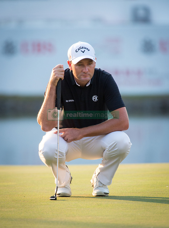 December 10, 2016 - Hong Kong, Hong Kong SAR, China - Rafa Cabrera Bello from Spain is tied on 11 under para with Australia's Sam Brazel (pictured) as they go into the final..Day 3 of the Hong Kong Open Golf at the Hong Kong Golf Club Fanling..© Jayne Russell. (Credit Image: © Jayne Russell via ZUMA Wire)
