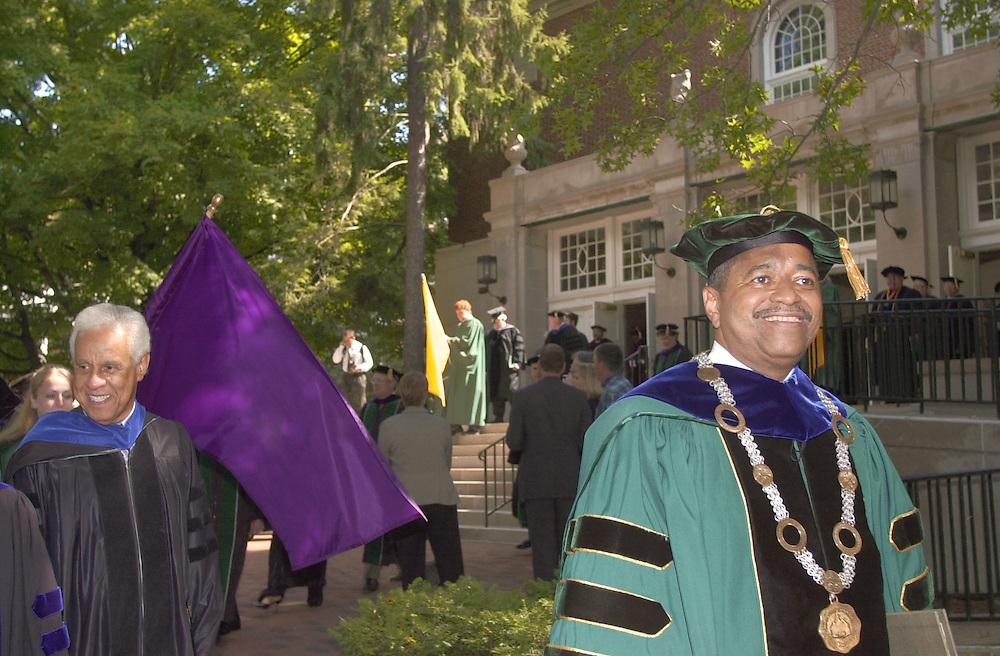 16604Inauguration of 20th President of Ohio University Dr. Roderick J. McDavis