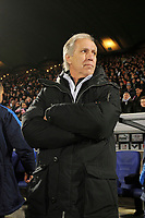 FOOTBALL - FRENCH CHAMPIONSHIP 2009/2010 - L1 - GIRONDINS BORDEAUX v MONTPELLIER HSC - 07/03/2010 - PHOTO JEAN MARIE HERVIO / DPPI - RENE GIRARD (MONTPELLIER COACH)