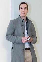 27.01.2020, Landesgericht, Innsbruck, AUT, Dopingprozess nach Operation Aderlass, Prozess gegen den ehemaligen Langläufer Johannes Dürr und den ehemaligen ÖSV-Trainer Gerald Heigl, im Bild Johannes Dürr // Johannes Dürr during the trial against former cross-country skier Johannes Dürr and former ÖSV trainer Gerald Heigl at the Landesgericht in Innsbruck, Austria on 2020/01/27. EXPA Pictures © 2020, PhotoCredit: EXPA/ Johann Groder