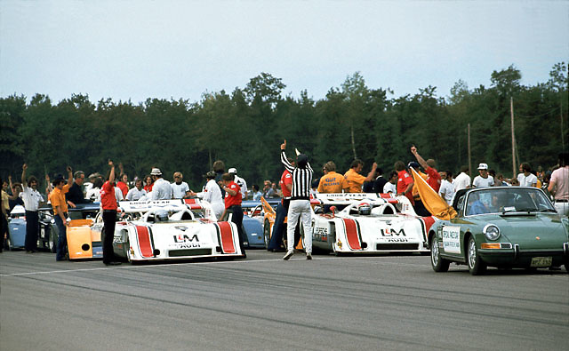 Starting Grid, 1972 Donnybrook Can-Am
