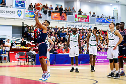 Lewis Champion of Bristol Flyers - Rogan/JMP - 11/10/2019 - BASKETBALL - SGS Wise Arena - Bristol, England - Bristol Flyers v Plymouth Raiders - BBL Cup.