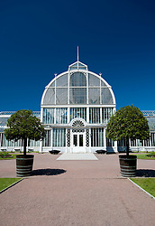 Glasshouse at Tradgardsforeningen Park in Gothenburg Sweden