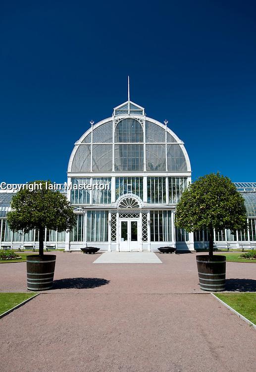 Glasshouse at Tradgardsforeningen Park in Gothenburg Sweden