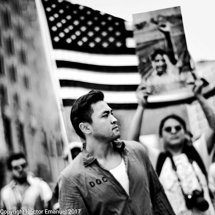 May Day Immigrant protest. May 1st, 2017 Washington DC